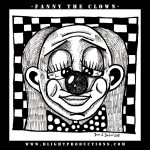 Fanny-the-Clown-B&amp;W